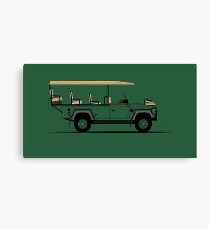 A Graphical Interpretation of the Defender 110 EV Game Viewer Canvas Print