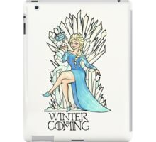Frozen Winter is Coming iPad Case/Skin
