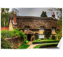 Cottage by the Thornton Beck Poster