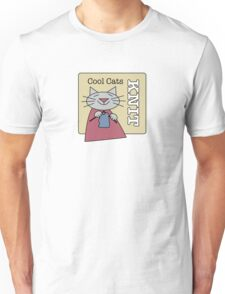 Cool Cats Knit Unisex T-Shirt