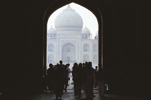 Heading to the Taj Mahal by ichilana