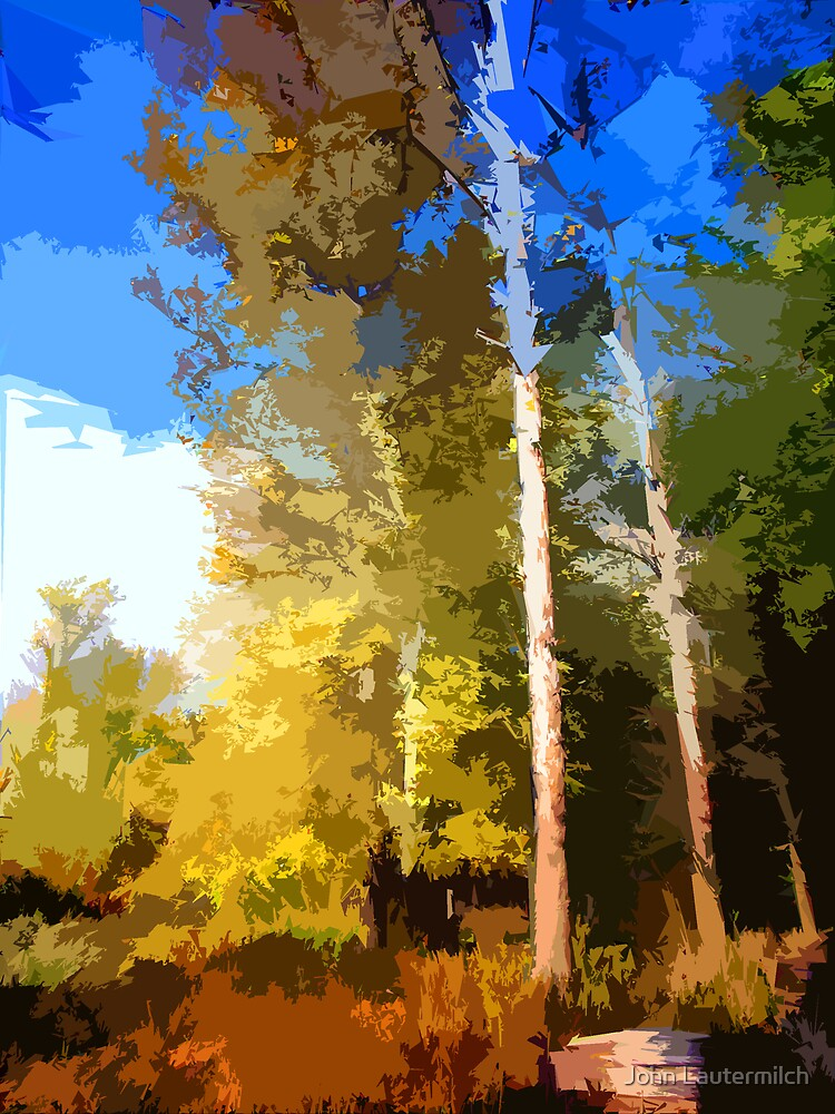 """""""Digital Fall Colors"""" by John Lautermilch"""