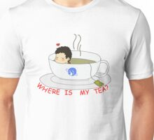 Where is my Tea? Unisex T-Shirt
