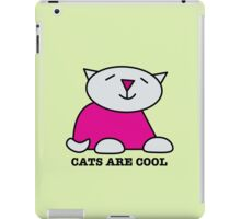 Cats Are Cool iPad Case/Skin