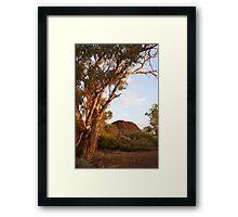 Creek Sunset Framed Print
