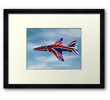 4 FTS solo display Hawk T.1A XX278 Framed Print