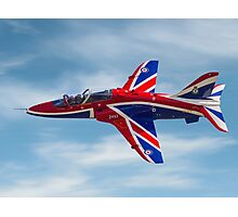 4 FTS solo display Hawk T.1A XX278 Photographic Print