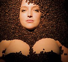 Coffee Beans by Benedicte Longechal
