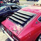 Datsun 240z rear by Beau Williams