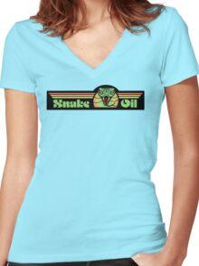 Venom - Snake Oil Women's Fitted V-Neck T-Shirt