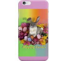 Easter Kitty  iPhone Case/Skin