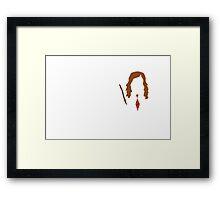 Hermione Granger Minimalist  Framed Print
