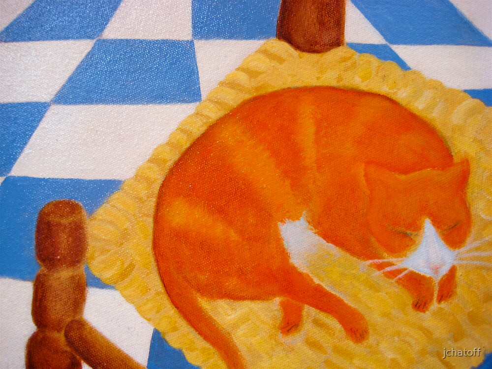 marmalade cat by jchatoff