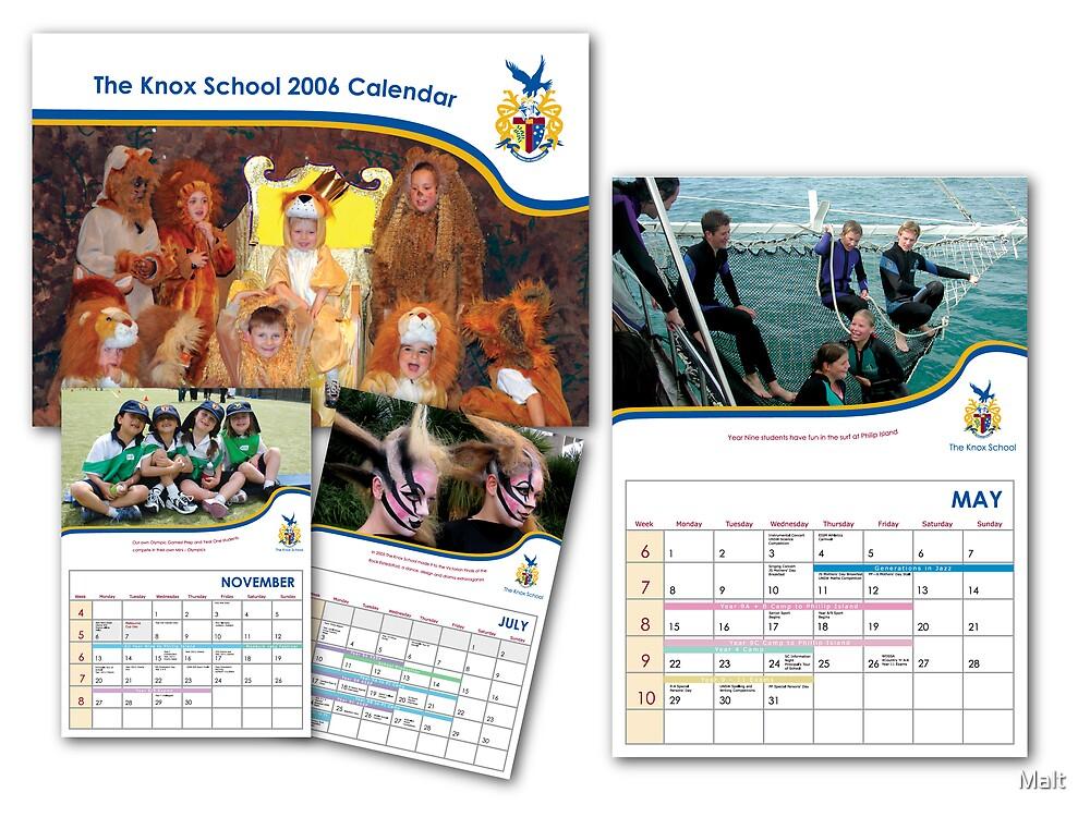 Calendars by Malt