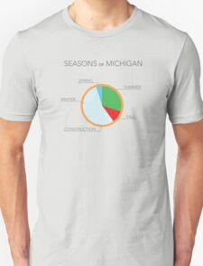 Seasons of Michigan T-Shirt