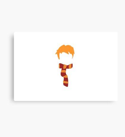 Ron Weasley Minimalist Canvas Print