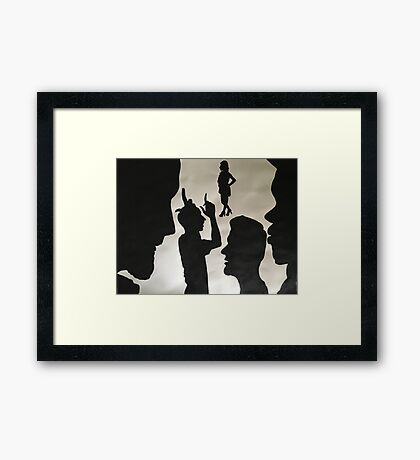 Pentatonix - Problem  Framed Print