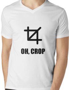 Oh Crop Mens V-Neck T-Shirt