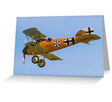 TVAL Albatros D.Va reproduction D.7343/17 Greeting Card