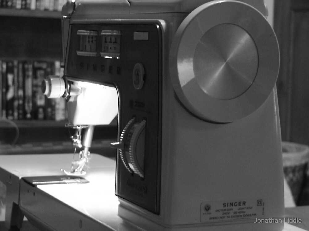 Sewing Machine by Jonathan Liddle