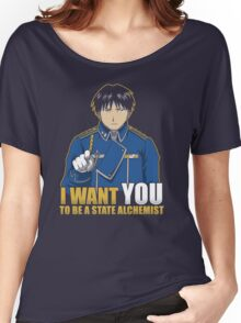 I Want You to be a State Alchemist Women's Relaxed Fit T-Shirt