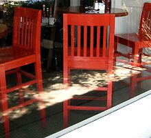 three red chairs by jchatoff