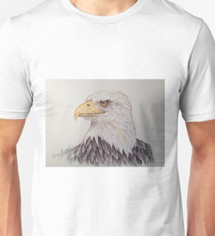 Eagle Ball Point Pen Art Unisex T-Shirt