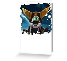 Ratchet & Clank - A new adventure Greeting Card