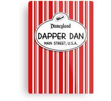 Dapper Dans Nametag - Red Metal Print