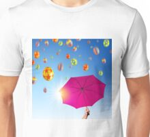 Falling Eggs Unisex T-Shirt