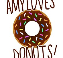 Amy loves donuts. by dolphinvera