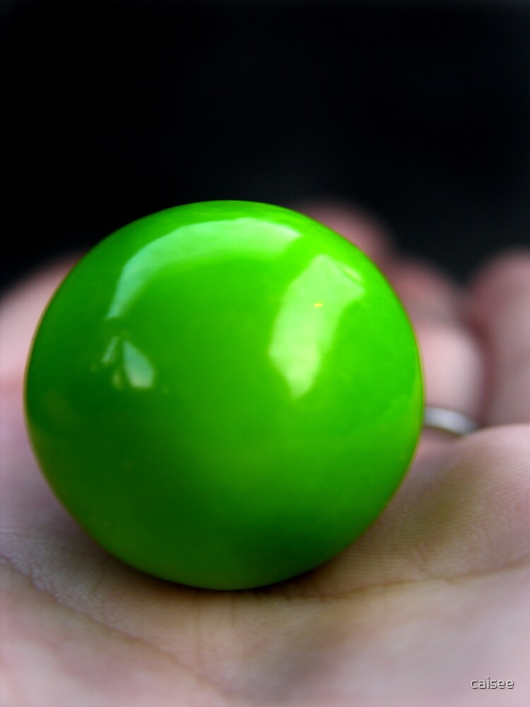 Green Gumball by caisee