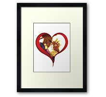 Leona & Pantheon Love - League of Legends Framed Print