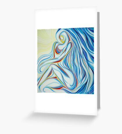 Hidden Woman Greeting Card