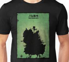 Howl's Moving Castle Inspired Print. Unisex T-Shirt