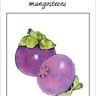 Mangosteens by mrana