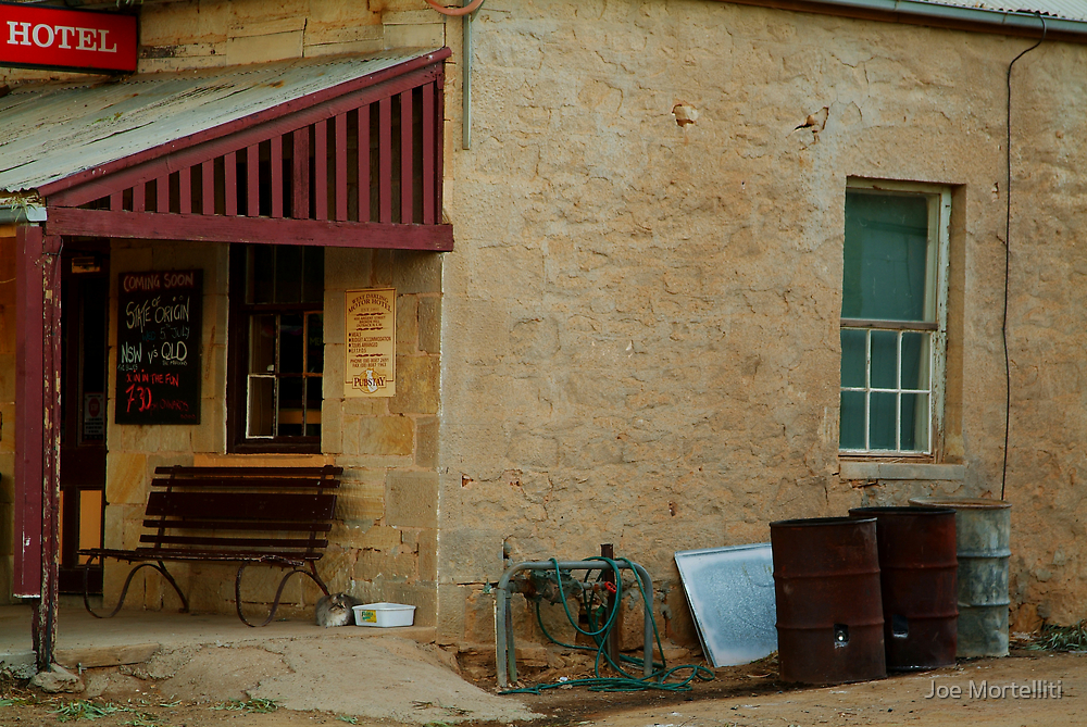 Hotel,Outback Tibooburra,N.S.W. by Joe Mortelliti