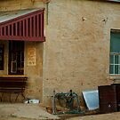 Hotel,Outback Tibooburra,N.S.W. by Joe Mortelliti