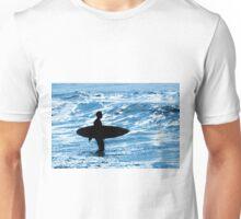 Surfer Silhouette Unisex T-Shirt