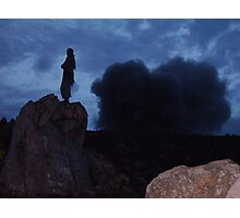 From the top of a volcano Photographic Print