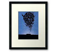 Hunter S Thompson Inspired print Framed Print