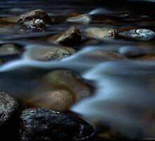 Flowing Creek by Rob Leighton
