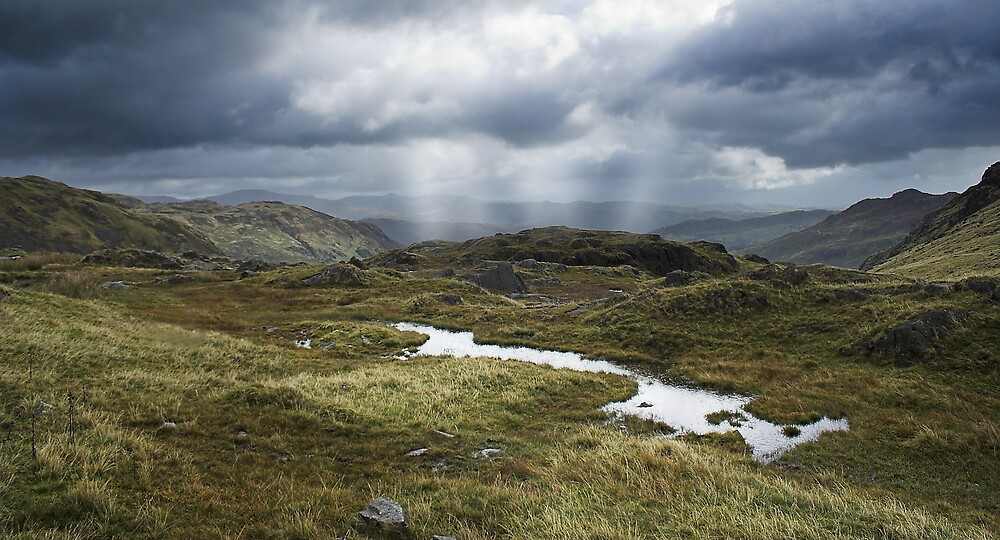 Cumbrian Mountains by Moth