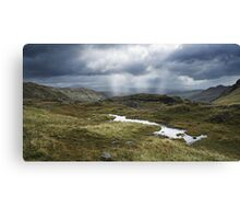 Cumbrian Mountains Canvas Print