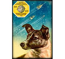 Laika the Sputnik 2 Russian Space Dog! Photographic Print