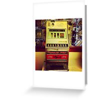 Fruit Machine Greeting Card