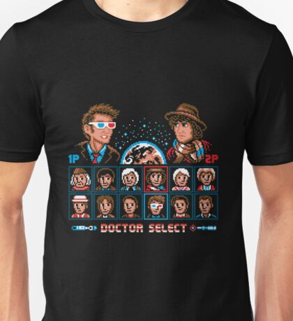 Doctor Who Doctor Fighter Unisex T-Shirt