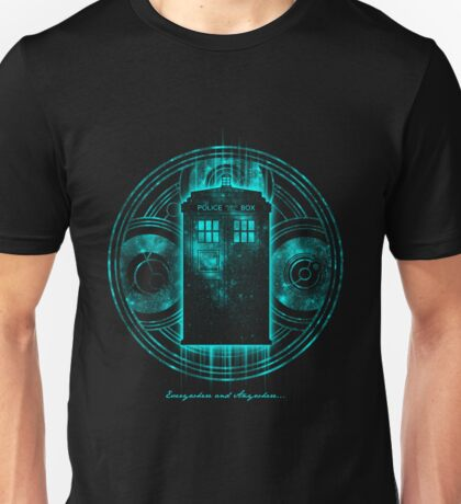 Doctor Who Everywhere And Anywhere Unisex T-Shirt
