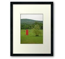 Magical Mystery Door Framed Print