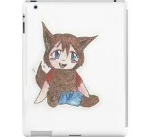 chibi werewolf iPad Case/Skin